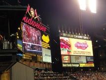 O estádio EUA de St Louis foto de stock