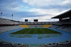O Estádio Olímpico - Barcelona Jogos Olímpicos de 1992 Fotos de Stock Royalty Free