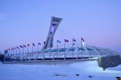 O estádio olímpico de Montreal Imagens de Stock Royalty Free