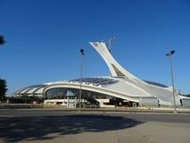 O Estádio Olímpico de Montreal fotografia de stock