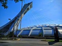 O Estádio Olímpico do terreno de Montreal Canadá Foto de Stock Royalty Free