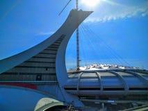 O Estádio Olímpico do terreno de Montreal Canadá Fotografia de Stock
