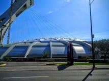 O Estádio Olímpico do terreno de Montreal Canadá Imagens de Stock Royalty Free