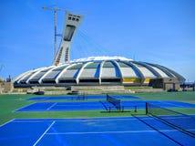 O Estádio Olímpico do terreno de Montreal Canadá Imagens de Stock
