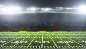 O estádio para esportes e os concertos esvaziam em um dia ensolarado Fotos de Stock