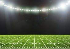 O estádio para esportes e os concertos esvaziam em um dia ensolarado Imagem de Stock Royalty Free