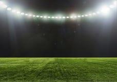 O estádio para esportes e os concertos esvaziam em um dia ensolarado Foto de Stock