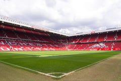 O estádio velho de Trafford Fotografia de Stock Royalty Free