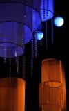 O estágio ilumina - o estúdio para a mostra de tevê da produção Imagem de Stock
