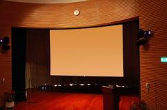 O estágio principal de um salão da função Imagens de Stock