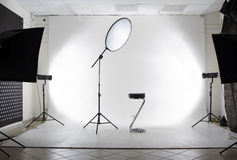 O estúdio Imagens de Stock Royalty Free