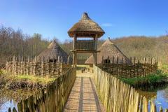 O estabelecimento de Craggaunowen em Ireland. Fotos de Stock Royalty Free