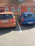 O estacionamento do carro foto de stock royalty free