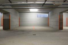 O estacionamento subterrâneo Foto de Stock