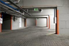 O estacionamento subterrâneo Imagem de Stock