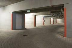 O estacionamento subterrâneo Fotografia de Stock Royalty Free