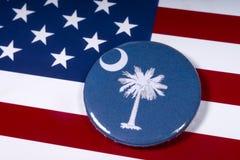 O estado de South Carolina imagem de stock