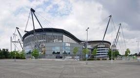O estádio de Manchester City Etihad Imagens de Stock