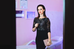 O esteticista da menina Fotos de Stock Royalty Free
