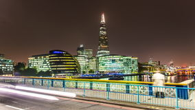 O estilhaço e a ponte de Londres video estoque