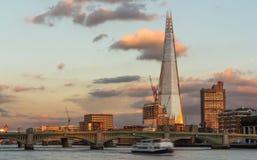 O estilhaço Londres foto de stock