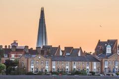 O estilhaço na skyline de Londres fotografia de stock royalty free