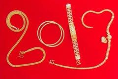 O estilo asiático acessório do ornamento bonito luxuoso do pendente dos ouro é Foto de Stock