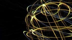 O estilo do plexo gerencie a anima??o da esfera filme