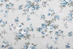 O estilo do vintage da tapeçaria floresce o teste padrão da tela Imagens de Stock Royalty Free