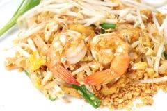 O estilo tailandês do alimento, acolchoa tailandês Imagens de Stock Royalty Free