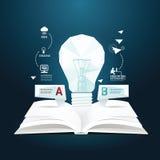 O estilo template.can do corte do papel do diagrama do negócio seja  Fotografia de Stock