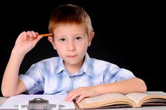 O estudante Imagem de Stock