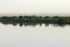 O Euphrates - o Síria Fotografia de Stock Royalty Free