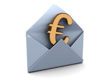O euro emite ilustração do vetor