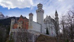 O europeu de neuschwanstein do castelo deve ver destinos fotografia de stock