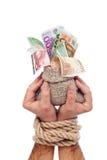 O europeu financia o conceito foto de stock royalty free