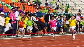 O evento do dia do esporte fotografia de stock