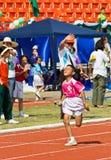 O evento do dia do esporte dos miúdos imagens de stock royalty free
