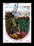 O exército alemão rende-se, 40th aniversário do fim da segunda guerra mundial Imagens de Stock Royalty Free