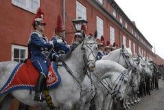 O exército barracks o kastellet Foto de Stock Royalty Free