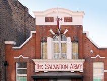 O exército de salvação em Londres Foto de Stock