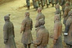 O exército do Terracotta Imagem de Stock Royalty Free