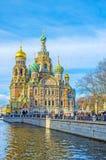 O exemplo da arquitetura medieval do russo Foto de Stock Royalty Free