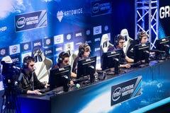 O extremo de Intel domina 2014, Katowice, Polônia Foto de Stock