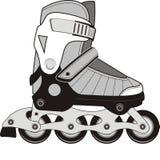 O extremo ostenta patins de rolo Fotos de Stock