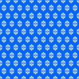 O fã Ditzy floresce a textura sem emenda azul Fotografia de Stock Royalty Free