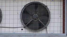 O fã do condicionador de ar industrial gerencie vídeos de arquivo