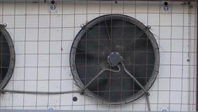 O fã do condicionador de ar industrial gerencie filme