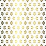 O fã dourado floresce o papel de parede sem emenda da textura Foto de Stock Royalty Free