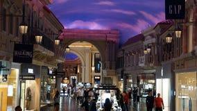 O fórum compra em Las Vegas Imagens de Stock Royalty Free